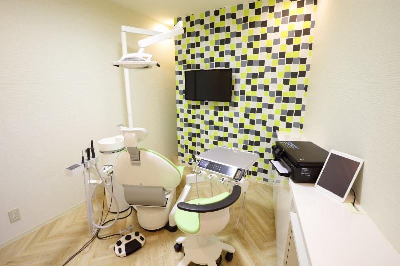 メンテナンスも、プライバシーを大切にした個室でご提供